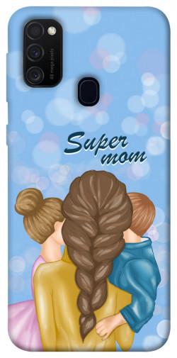 Чехол itsPrint Super mommy для Samsung Galaxy M21