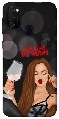 Чехол itsPrint My life my rules для Samsung Galaxy M21