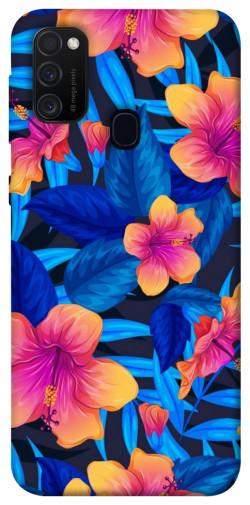 Чехол itsPrint Цветочная композиция для Samsung Galaxy M21