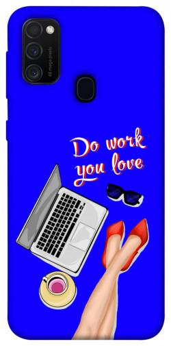 Чехол itsPrint Do work you love для Samsung Galaxy M21
