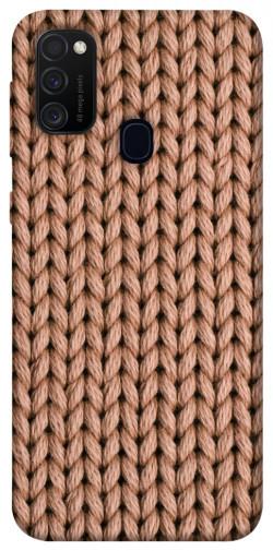 Чехол itsPrint Knitted texture для Samsung Galaxy M21