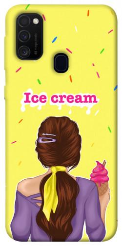 Чехол itsPrint Ice cream girl для Samsung Galaxy M21