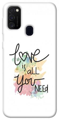 Чехол iPrint Love is all you need для Samsung Galaxy M21