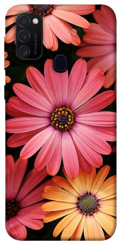 Чехол itsPrint Осенние цветы для Samsung Galaxy M21