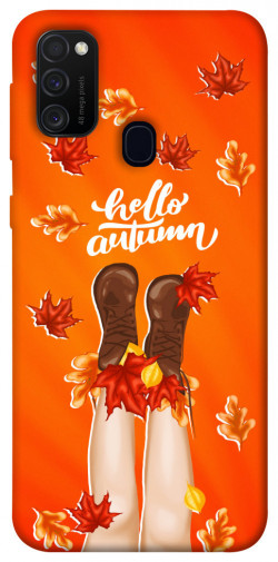 Чехол itsPrint Hello autumn для Samsung Galaxy M21
