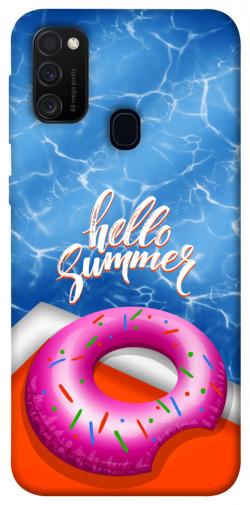 Чехол itsPrint Hello summer для Samsung Galaxy M21