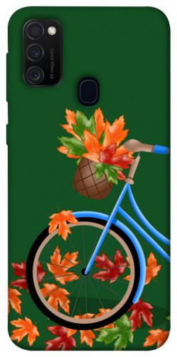 Чехол itsPrint Осенняя прогулка для Samsung Galaxy M21