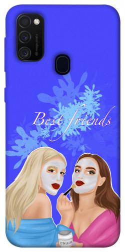 Чехол itsPrint Best friends для Samsung Galaxy M21
