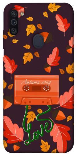 Чехол itsPrint Autumn sound для Samsung Galaxy M11