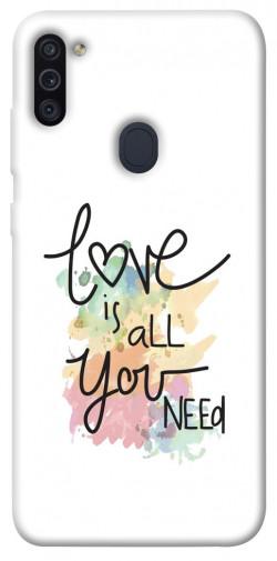 Чехол iPrint Love is all you need для Samsung Galaxy M11