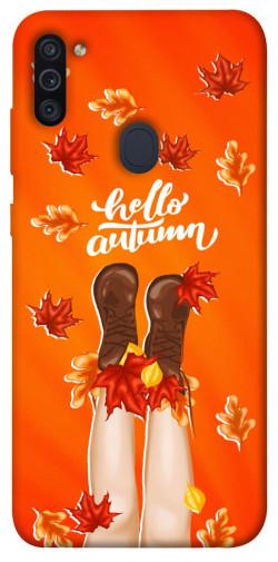 Чехол itsPrint Hello autumn для Samsung Galaxy M11