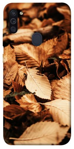 Чехол itsPrint Опавшая листва для Samsung Galaxy M11