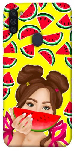Чехол itsPrint Watermelon girl для Samsung Galaxy M11