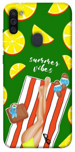 Чехол itsPrint Summer girl для Samsung Galaxy M11