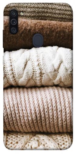 Чехол itsPrint Knitted aesthetics для Samsung Galaxy M11