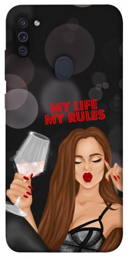 Чехол itsPrint My life my rules для Samsung Galaxy M11