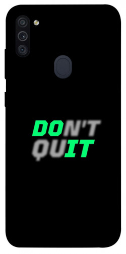 Чехол itsPrint Don't quit для Samsung Galaxy M11