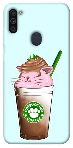 Чехол itsPrint Catpuccino для Samsung Galaxy M11