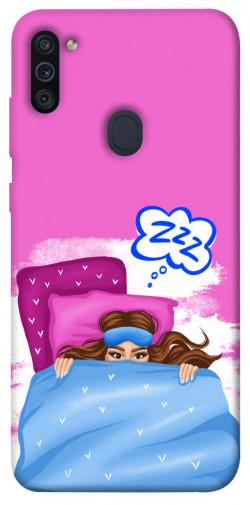 Чехол itsPrint Sleepу girl для Samsung Galaxy M11