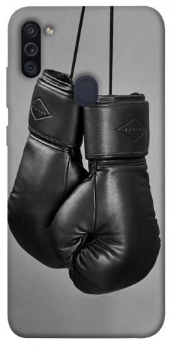 Чехол itsPrint Черные боксерские перчатки для Samsung Galaxy M11