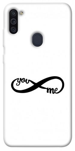 Чехол iPrint You&me для Samsung Galaxy M11