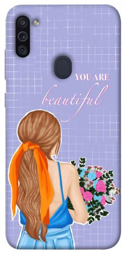 Чехол itsPrint You are beautiful для Samsung Galaxy M11