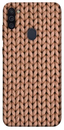 Чехол itsPrint Knitted texture для Samsung Galaxy M11