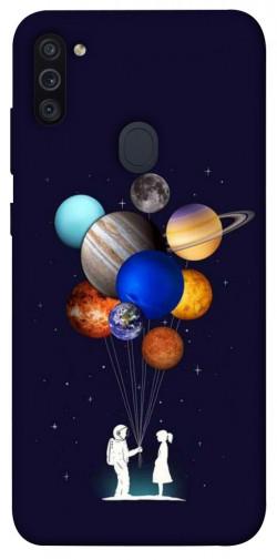 Чехол iPrint Галактика для Samsung Galaxy M11