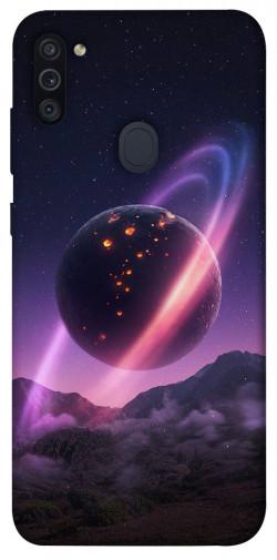 Чехол itsPrint Сатурн для Samsung Galaxy M11