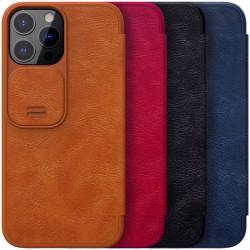 "Кожаный чехол (книжка) Nillkin Qin Pro Camshield для Apple iPhone 13 Pro (6.1"")"