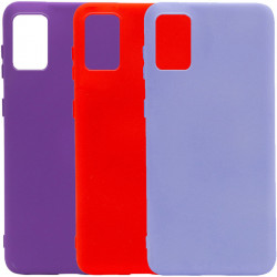 Чехол Silicone Cover Full without Logo (A) для Samsung Galaxy A71