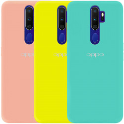 Чехол Silicone Cover My Color Full Protective (A) для Oppo A9 (2020)
