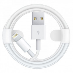Дата кабель Foxconn для Apple iPhone USB to Lightning (AA grade) (1m) (box)