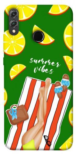 Чехол itsPrint Summer girl для Huawei Honor 8X