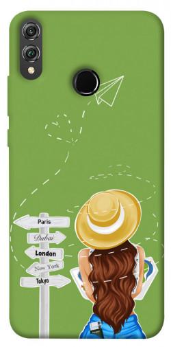 Чехол itsPrint Travel girl для Huawei Honor 8X