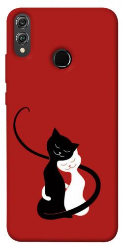 Чехол iPrint Влюбленные коты для Huawei Honor 8X