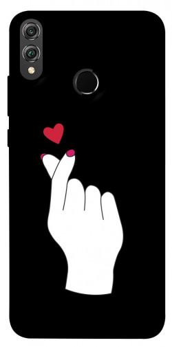 Чехол iPrint Сердце в руке для Huawei Honor 8X