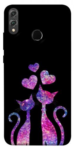Чехол iPrint Комические коты для Huawei Honor 8X