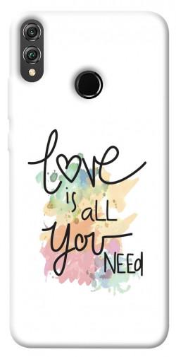 Чехол iPrint Love is all you need для Huawei Honor 8X