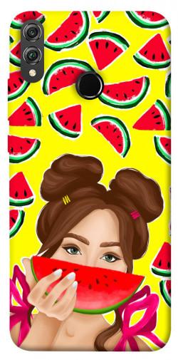 Чехол itsPrint Watermelon girl для Huawei Honor 8X
