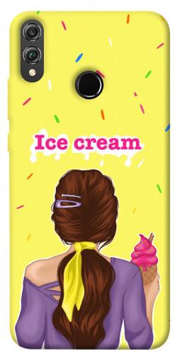 Чехол itsPrint Ice cream girl для Huawei Honor 8X