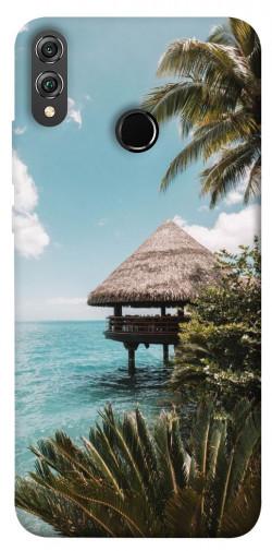 Чехол itsPrint Тропический остров для Huawei Honor 8X
