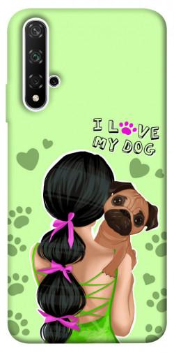 Чехол itsPrint Love my dog для Huawei Honor 20 / Nova 5T