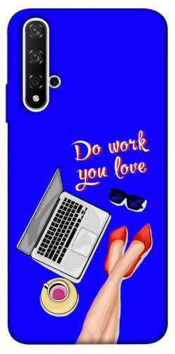 Чехол itsPrint Do work you love для Huawei Honor 20 / Nova 5T