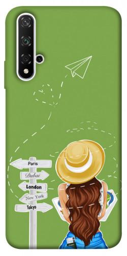 Чехол itsPrint Travel girl для Huawei Honor 20 / Nova 5T
