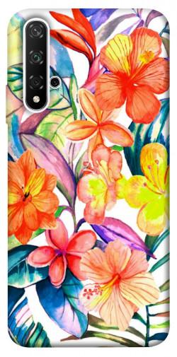 Чехол itsPrint Цветочный коктейль для Huawei Honor 20 / Nova 5T