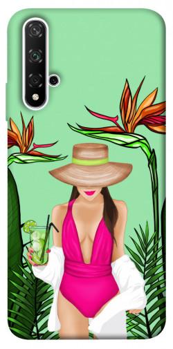 Чехол itsPrint Tropical girl для Huawei Honor 20 / Nova 5T