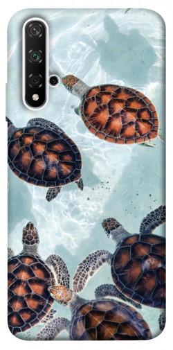 Чехол itsPrint Морские черепахи для Huawei Honor 20 / Nova 5T