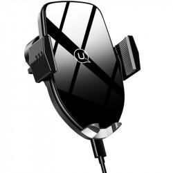 Автодержатель с БЗУ USAMS US-CD72 (wireless)