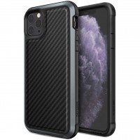 "Чехол Defense Lux Series (TPU+Metal+Carbon) для Apple iPhone 11 Pro (5.8"")"